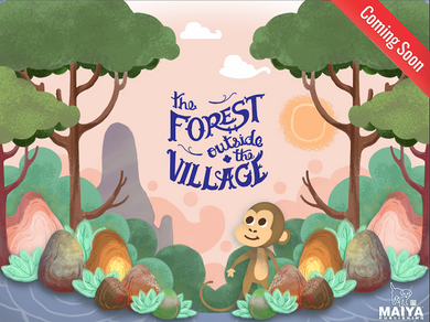 The Forest Outside the Village (English to Hindi)