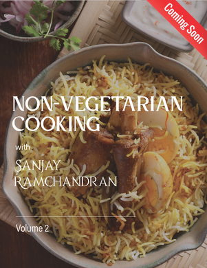 Non-Vegetarian Cooking with<br />Sanjay Ramachandran (English to French)