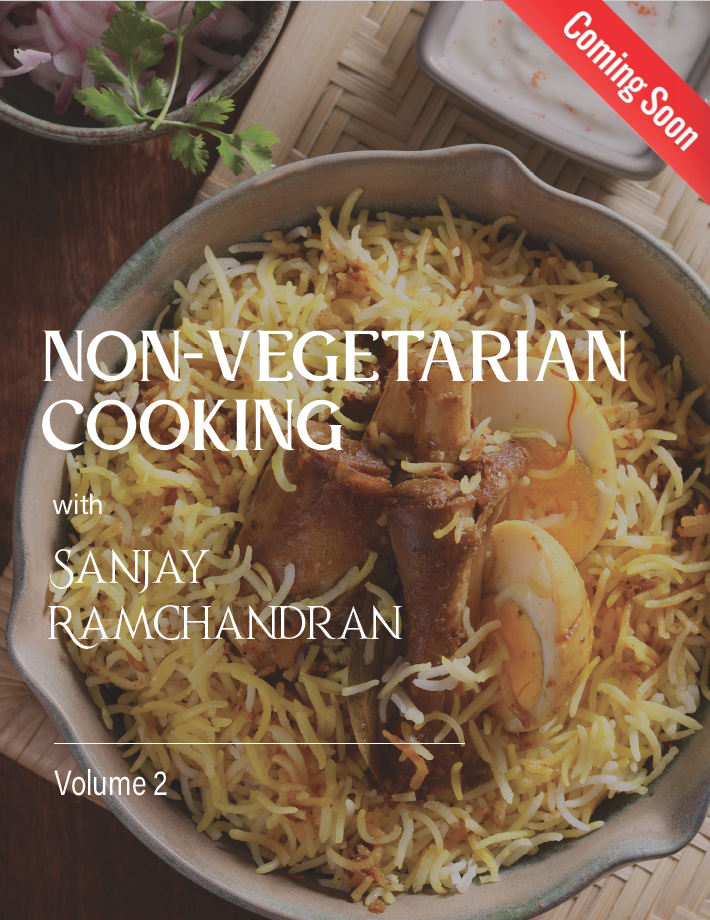 Non-Vegetarian Cooking with<br />Sanjay Ramachandran (English to German)
