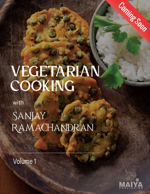 Vegetarian Cooking with<br>Sanjay Ramachandran (English to German)