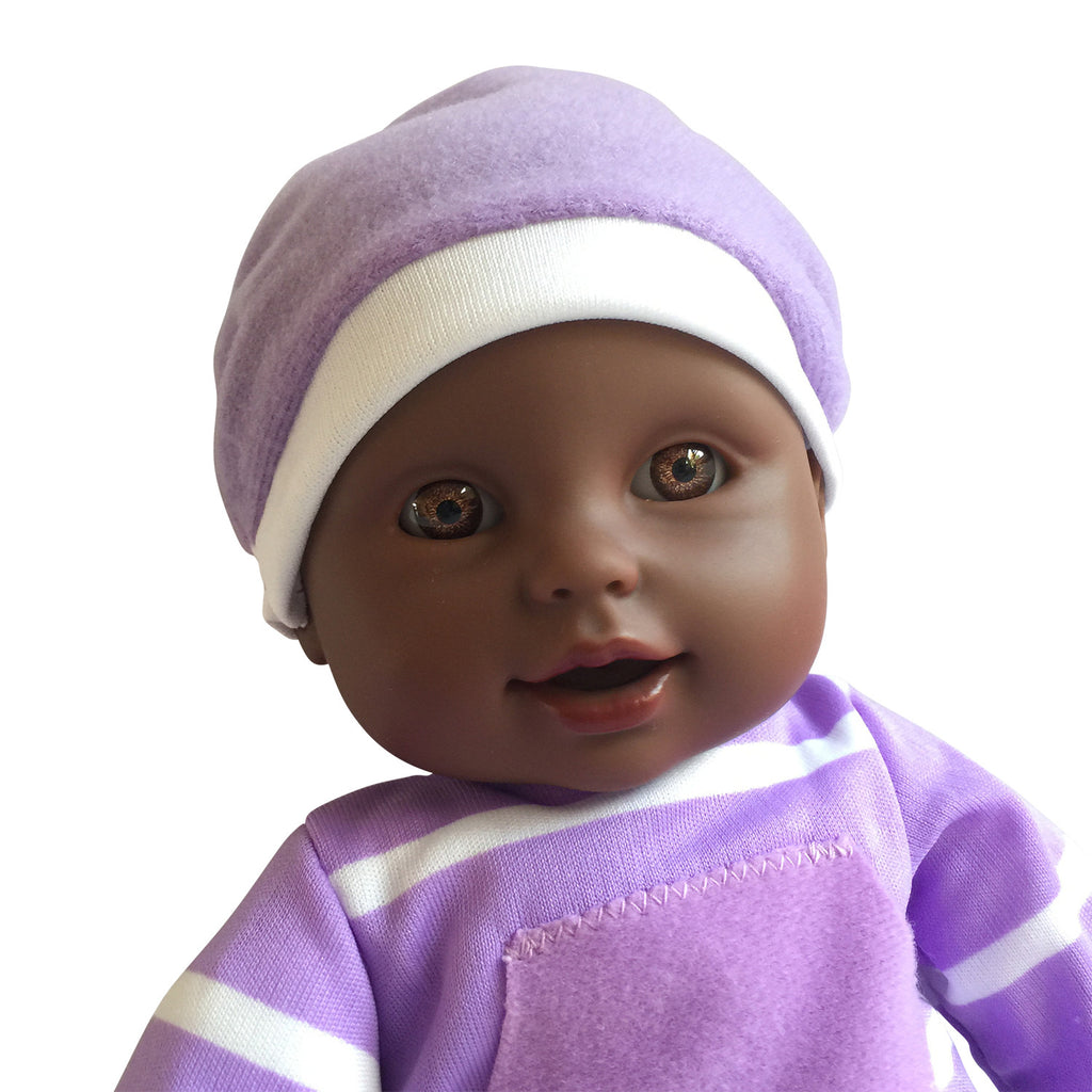 11 inches soft body vinyl doll in gift box African American