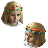 Braided Hair Wraps Set of 2