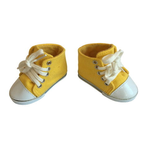 Canvas Sneakers – Yellow