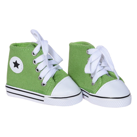 Canvas Sneakers – Green