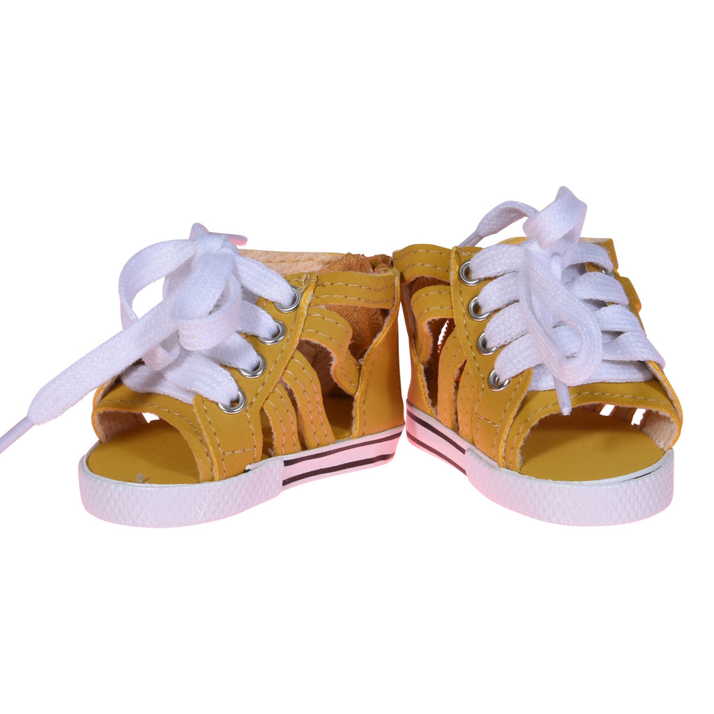 Roman Gladiatior Shoes Banana Yellow