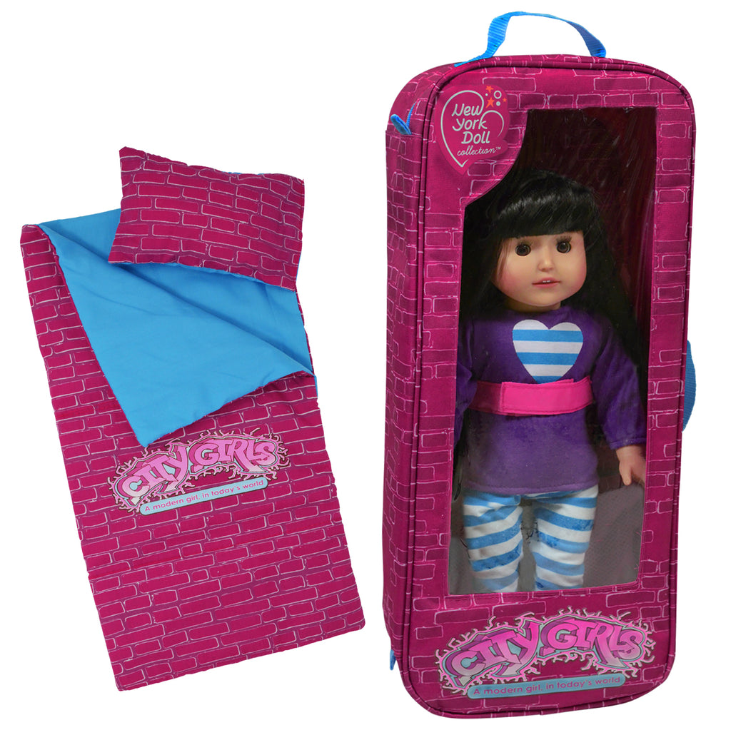 City Girls Travel Bag and Sleepover Set