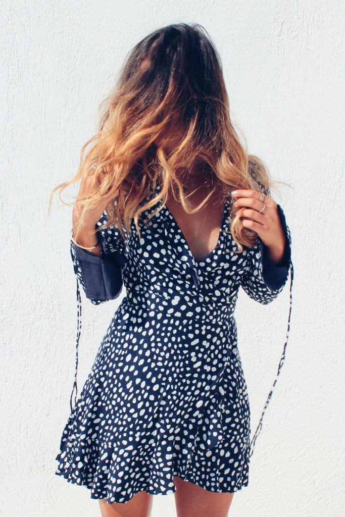 THE FREYA WRAP DRESS - You.