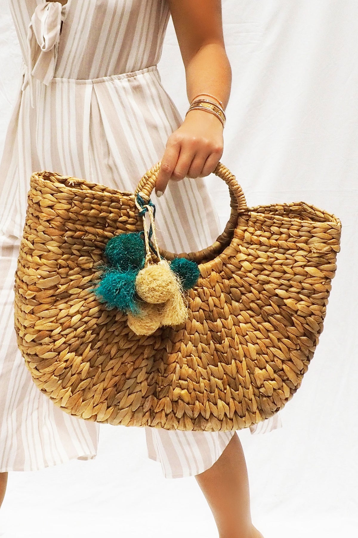 THE WILD LOVE WOVEN BAG - You.