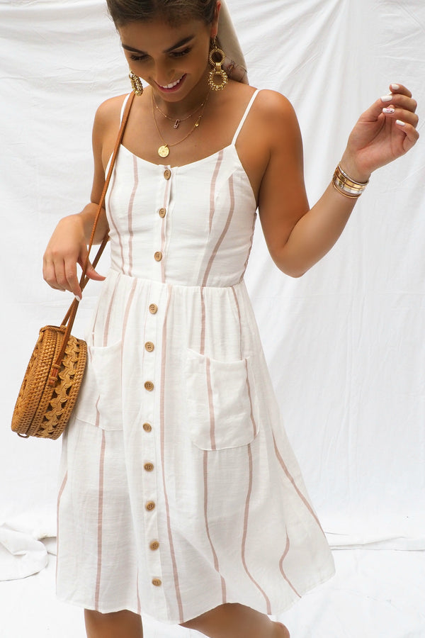 THE SANTORINI SAIL DRESS - You.