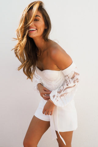 THE WHITE HOT PLAYSUIT
