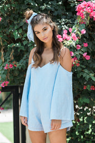 The Chambray Esmee Playsuit - You.