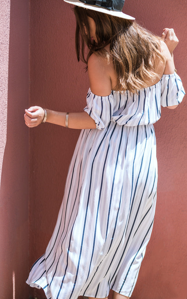 The Voyage Maxi Skort Dress - You.