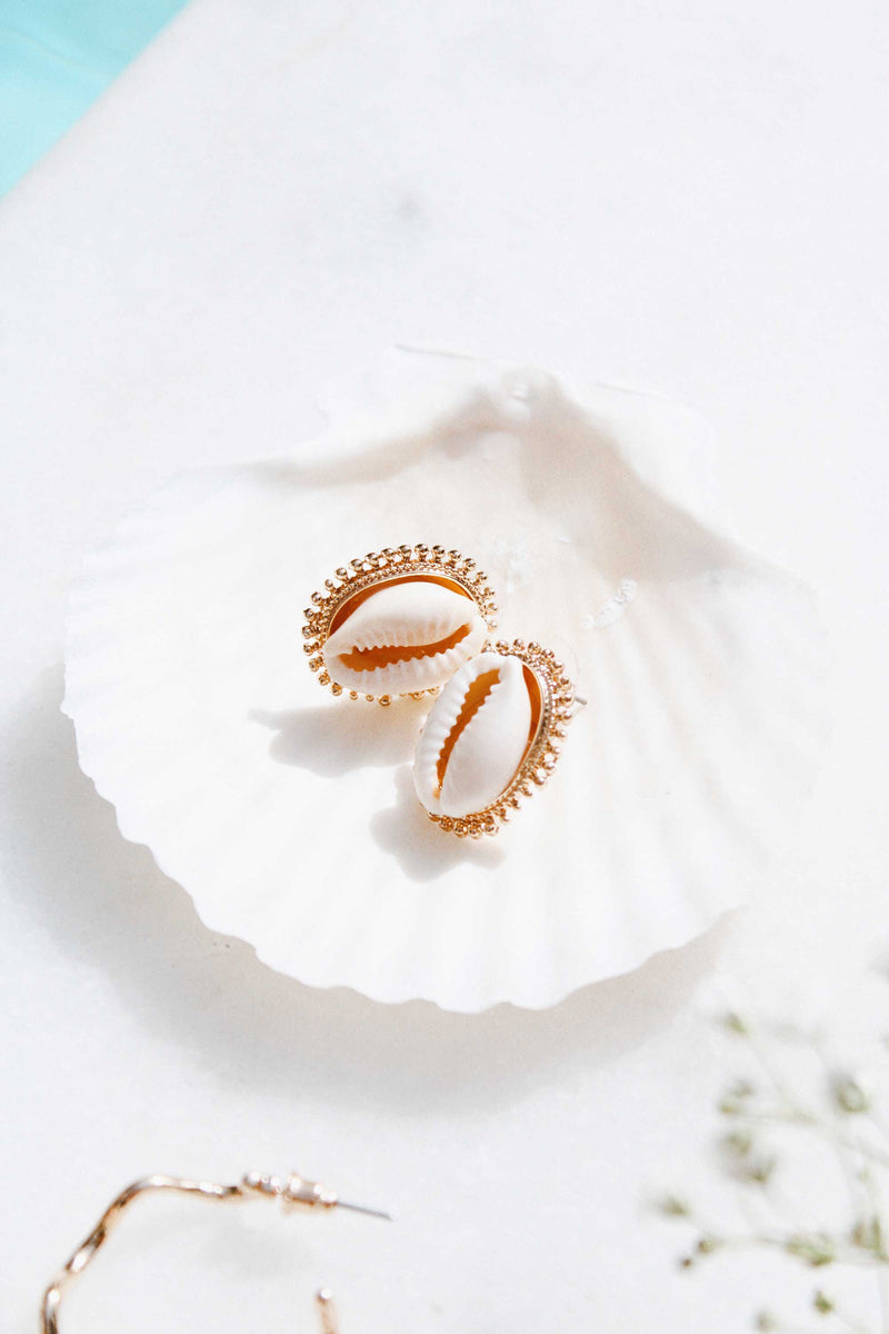 THE BALI SHELL STUDS - You.