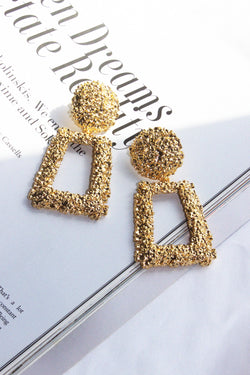 THE IT GIRL GOLD DROP EARRINGS - You.