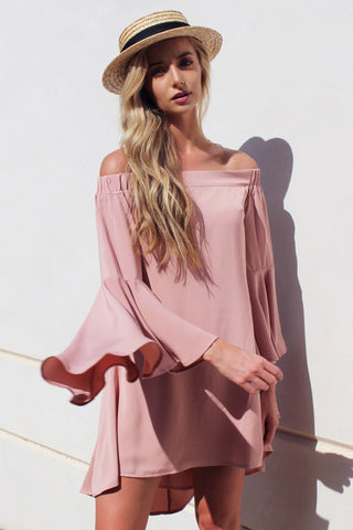 THE LILY OFF THE SHOULDER DRESS