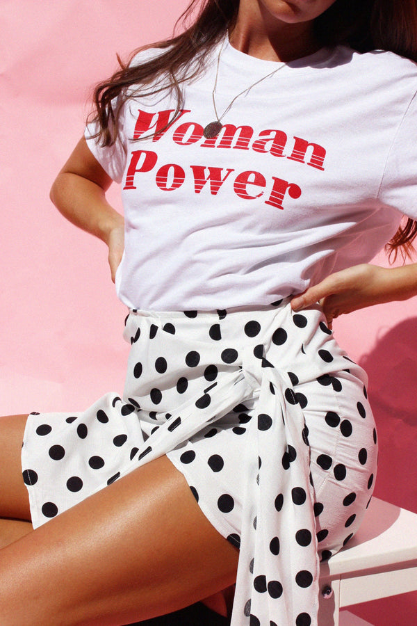 THE POLKA PARTY SKIRT - You.