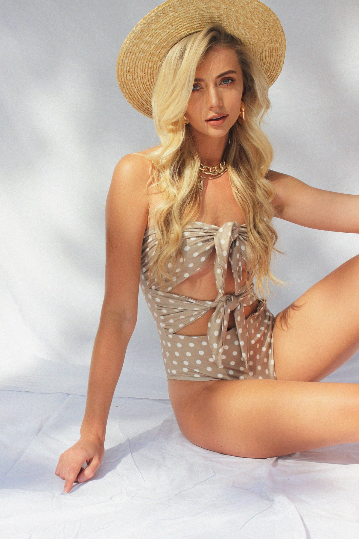 THE DREAM CATCHER BODYSUIT - BEIGE - You.