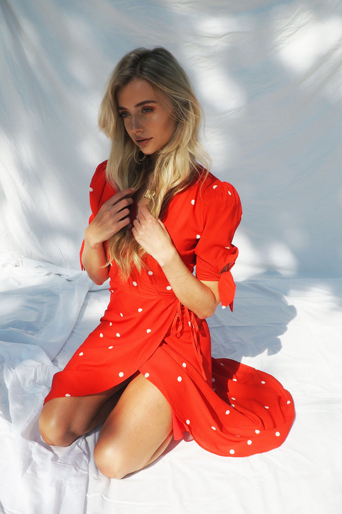 THE AMALFI WRAP DRESS - You.