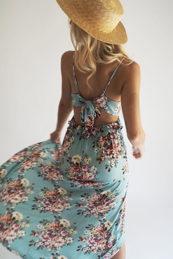 THE SUMMER SCENT MAXI DRESS - You.