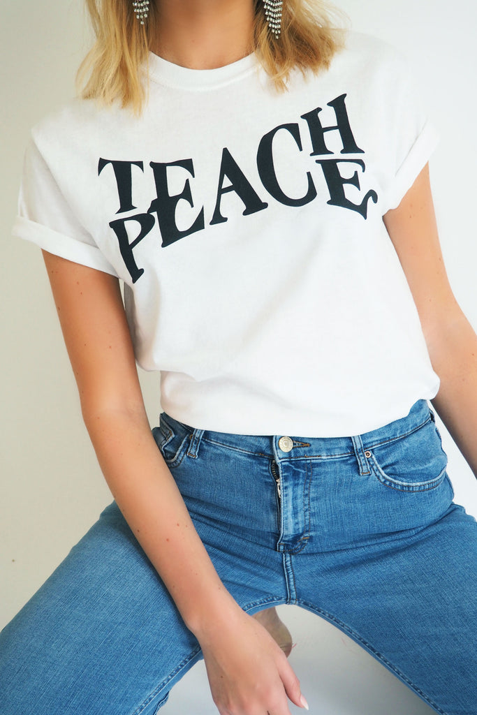 THE TEACH PEACE TEE - You.