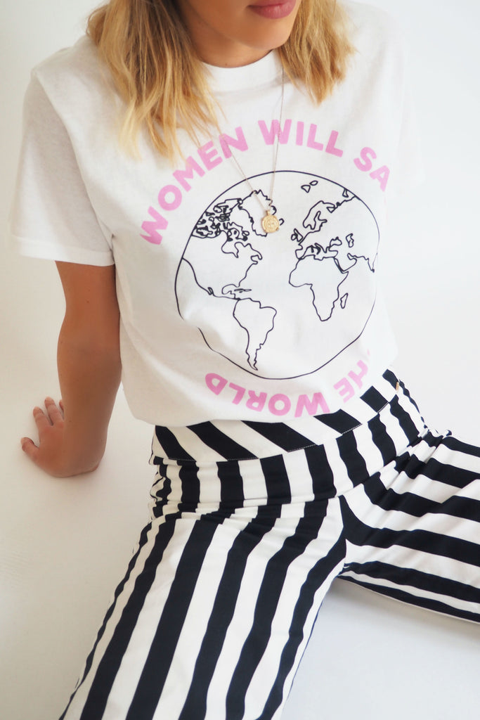 THE WOMEN WILL SAVE THE WORLD TEE - You.