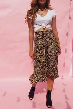 THE INTO THE WILD MIDI SKIRT - You.