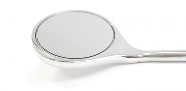 Dental mirror (Ø 50mm) 48 cm with pouch
