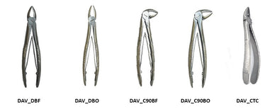 Straight forceps closed 17 cm
