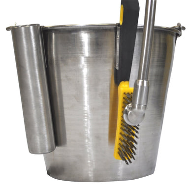 Stainless steel brush without holder
