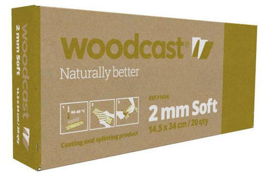 Woodcast 2mm Soft, 14.5cm x 34cm