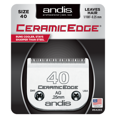 Andis Ceramic Edge terä nro 40 (0,25 mm)