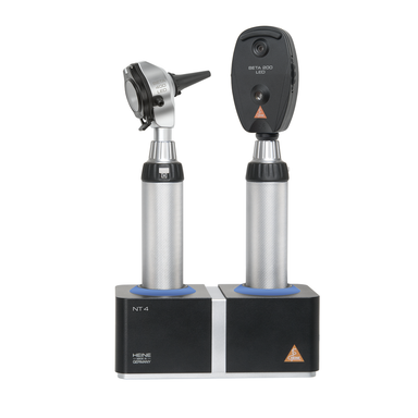 HEINE BETA Kit LED - BETA 200 Ophthalmoscope + BETA 400 F.O. Otoscope