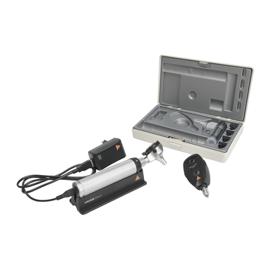 HEINE BETA Set - 200 LED Ophthalmoscope + BETA 400 LED F.O. Otoscope