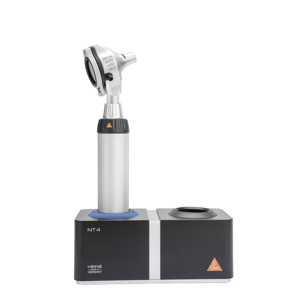 HEINE BETA 200 LED VET F.O. OTOSCOPE Kit