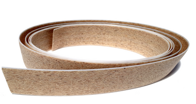 Woodcast 1mm Ribbon, 8cm x 7.5m, musta, 1pcs