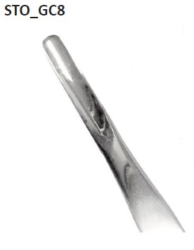 Curved bone rongeur Ø 8 mm