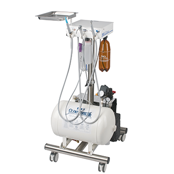 "iM3 GS Deluxe ""LED"" SW Dental unit with oilfree compressor"