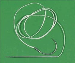 LIGAFIBA LATERAL SUTURE 500LB (STR & CVD NEEDLE)
