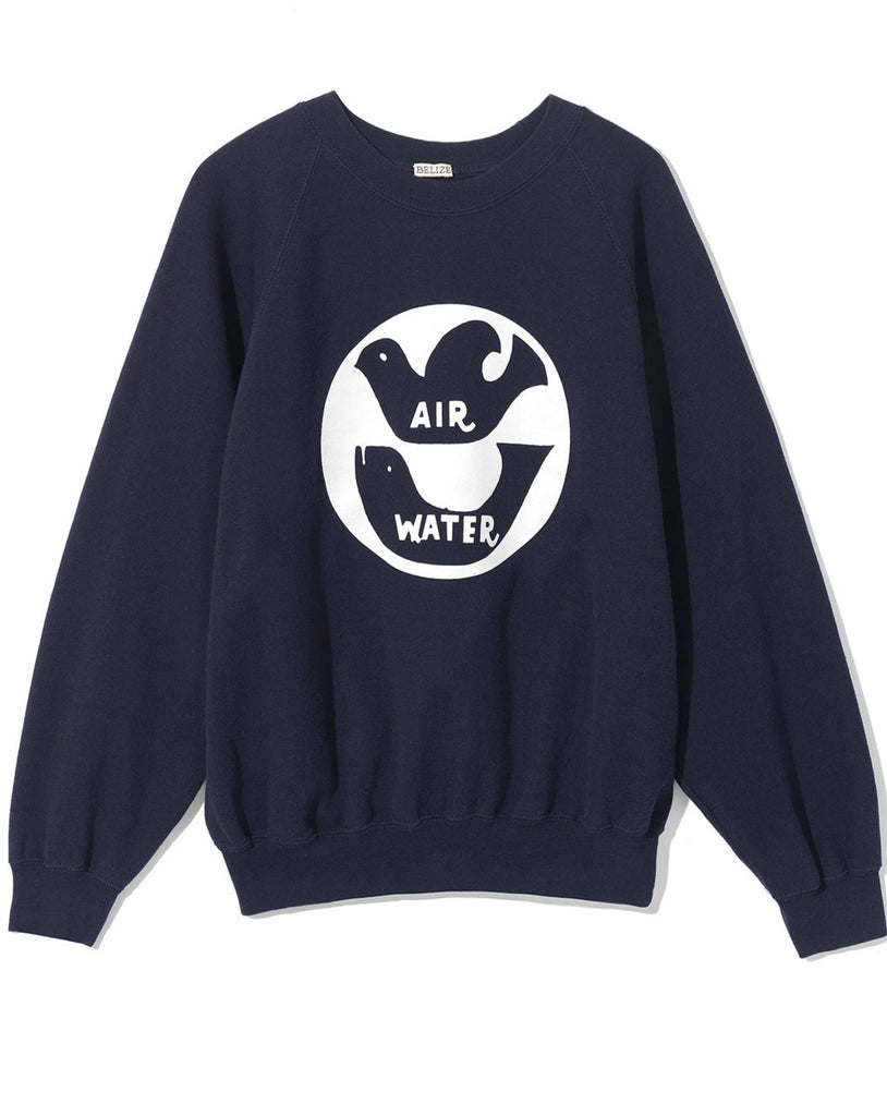 AIR WATER SWEATSHIRT - NAVY