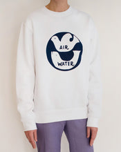 Load image into Gallery viewer, AIR WATER SWEATSHIRT - WHITE