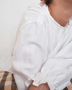 RACHELLE COTTON LINEN SHIRT