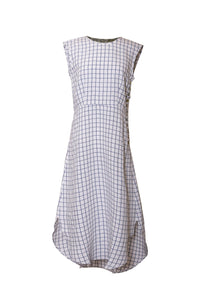 LILA PICNIC CHECK DRESS