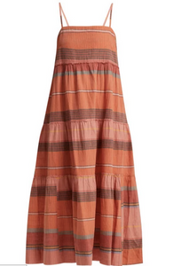 GEORGIA TIERED HANDLOOM DRESS