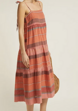 Load image into Gallery viewer, GEORGIA TIERED HANDLOOM DRESS