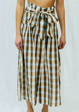 Load image into Gallery viewer, VANESSA BUTTON BELT SKIRT