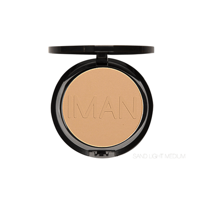 IMAN Cosmetics Poudre Compacte Sand light Medium