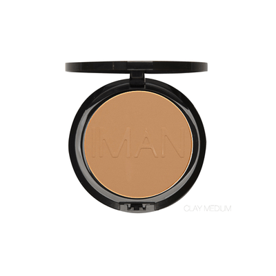 IMAN Cosmetics Poudre Compacte Clay Medium