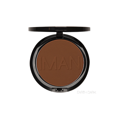 IMAN Cosmetics Poudre Compacte Earth Dark