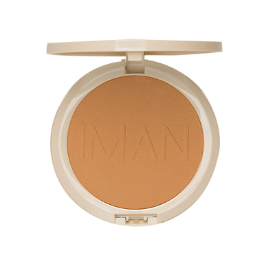 IMAN Cosmetics Poudre Compacte Sébo-Absorbante Light Medium