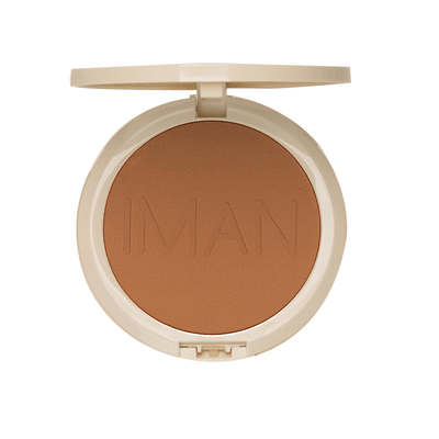 IMAN Cosmetics Poudre Compacte Sébo-Absorbante Medium